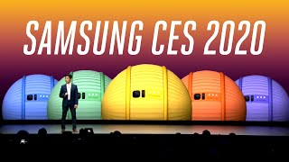 Samsung CES 2020 keynote in under 6 minutes thumbnail