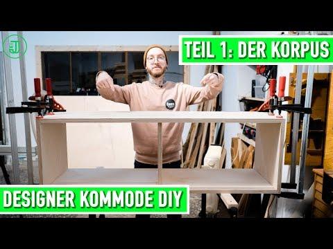 Designer Kommode selber bauen: Teil 1 - der Korpus   Jonas Winkler