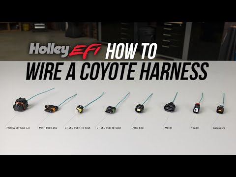 How to Identify, Crimp, and De-Pin Connectors on a Ford Coyote Wiring Harness