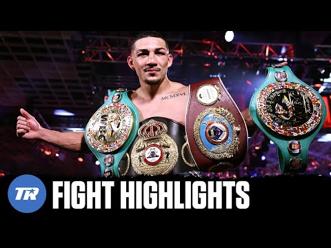 Teofimo Lopez Upsets Vasiliy Lomachenko to become Undisputed Lightweight Champion | FIGHT HIGHLIGHTS