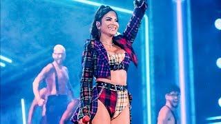 Natti Natasha En Vivo En La Tarima De Premios Juventud Cantando   Oh Daddy