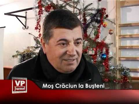 Moş Crăciun, la Buşteni