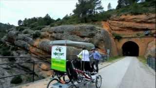 preview picture of video 'Via Verda Terra Alta. Horta de Sant Joan - Pinell de Brai.webm'