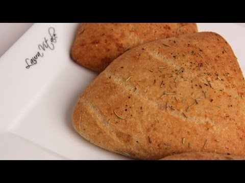 Homemade Focaccia Rolls Recipe – Laura Vitale – Laura in the Kitchen Episode 293