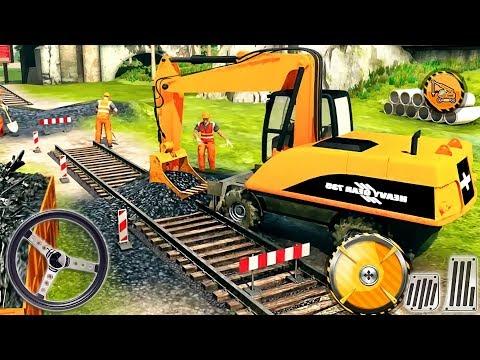Indian Train Track Railroad Builder 2019 - Construction