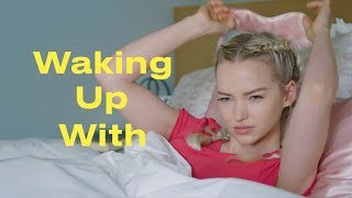 This Is Dove Cameron's Morning Routine | Waking Up With... | ELLE - dooclip.me