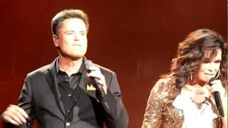 Donny & Marie (A Beautiful Life) - Caesars Atlantic City, NJ- August 5,2012