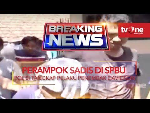 Polisi Tangkap 'Kapten' Perampokan Sadis di SPBU Daan Mogot