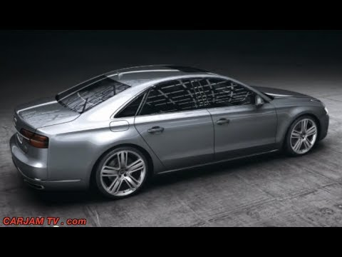 2015 Audi A8 Matrix LED Lights How They Work Video Commercial CARJAM TV 2014