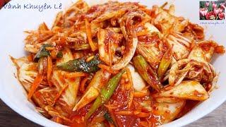 Download Video Kim Chi Cải Thảo - Cách làm Kim Chi trộn ăn liền Chay mặn đều dùng được by Vanh Khuyen MP3 3GP MP4