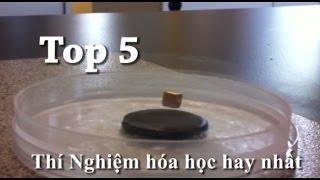 ----Top 5 Thí nghiệm hóa học ở nhà hay nhất! -----
