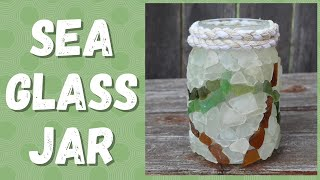 How To Make A Sea Glass Art Vase