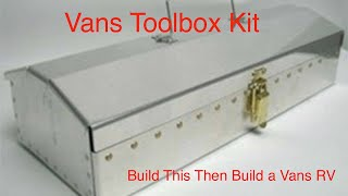 RV Aircraft Video - VansToolbox Kit- Learn the basics for building a Vans RV aircraft