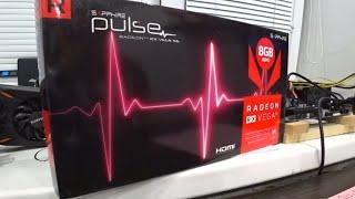 Про Sapphire PULSE RX vega 56 и тест в майнинге