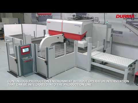 Servoelektrické ohýbací centrum Durma Panel Bender