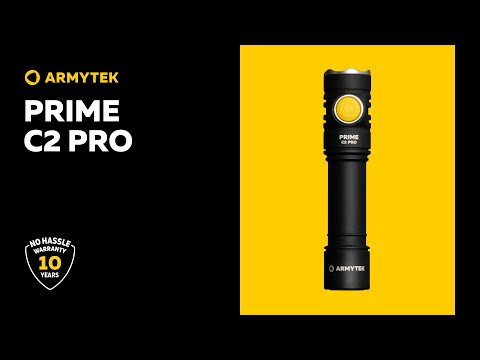 Armytek Prime C2 Pro — powerful 2 in 1 Every Day Carry light