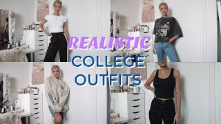 REALISTIC COLLEGE OUTFITS FOR CLASS | Keaton Milburn