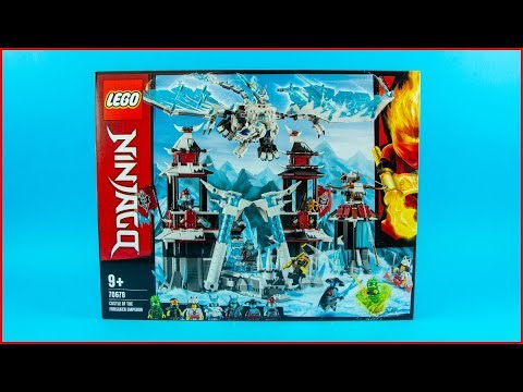 Vidéo LEGO Ninjago 70678 : Le château de l'Empereur oublié