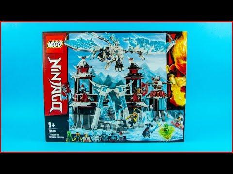 LEGO NINJAGO 70678 Castle of the Forsaken Emperor Construction Toy   UNBOXING