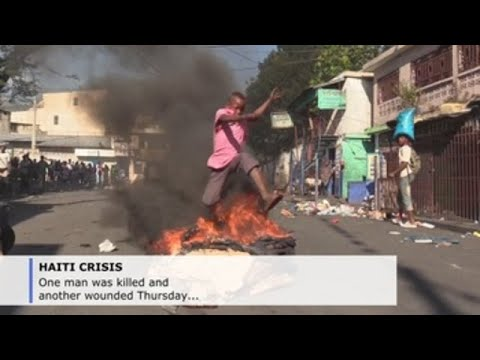 Man fatally shot amid ongoing protests in Haiti