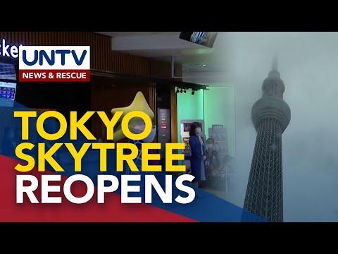 [UNTV]  Tokyo Skytree reopens