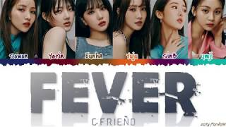 GFRIEND (여자친구)   'FEVER' (열대야) Lyrics [Color Coded_Han_Rom_Eng]