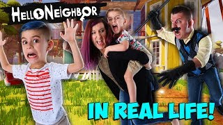 Hello Neighbor In Real Life! (FUNhouse Family) Hide N Seek