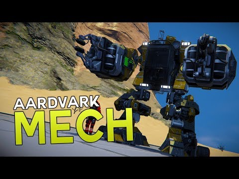 Space Engineers - Construction MECH!