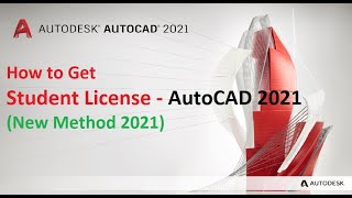 AutoCAD 2021 (Student License - Subscription based)