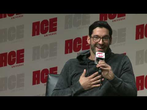 Lucifer Panel With Tom Ellis