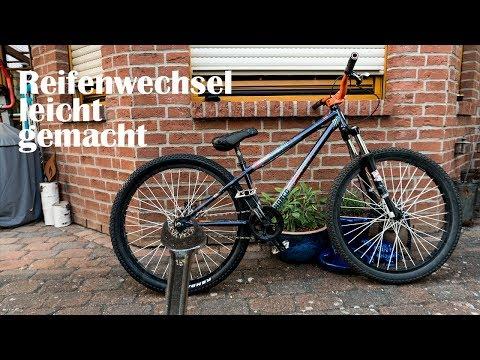 #1 Fahrradreifen wechseln leicht gemacht - Dirt Bike/ Fahrrad