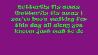 Butterfly Fly Away Lyrics