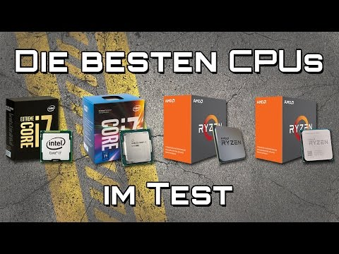 Die besten CPUs im Test (2017) | #Gaming-PC