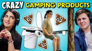 Crazy Camping Products That Actually Exist | Teens & Adults React