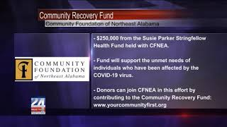 Community Recovery Fund from the Community Foundation of Northeast Alabama