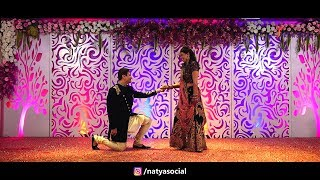 Groom Surprise Dance Performance on Aaj Se Teri | Natya Social