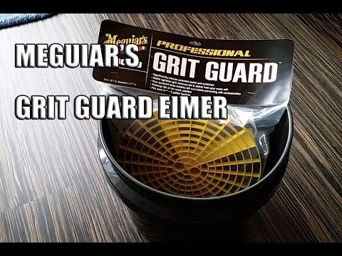 83metoo - Meguiars's Grit Guard Eimer mit Einsatz - Auto waschen Eimer