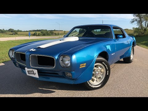 Video of '72 Firebird Trans Am - QX34