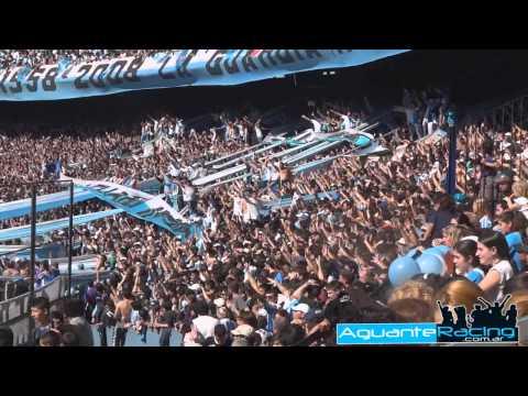 """""""Racing Club - La Guardia Imperial vs Independiente - Torneo Inicial 2012"""" Barra: La Guardia Imperial • Club: Racing Club • País: Argentina"""