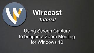 Wirecast video