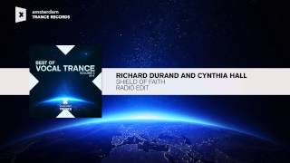 Richard Durand & Cynthia Hall   Shield Of Faith (Edit) BEST OF VOCAL TRANCE