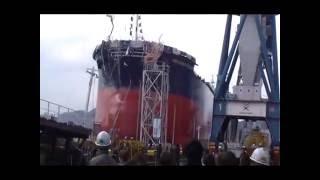 常石造船「RBDCARLOGUALDI」進水式