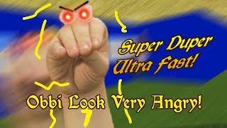 SUPER DUPER ULTRA FAST! | Oobi's Basics [Baldi's Basics Mod]