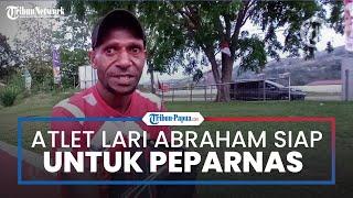 Atlet Lari Abraham Elopere Siap Tampil Maksimal di Peparnas XVI Papua, Berharap Bisa Raih Emas