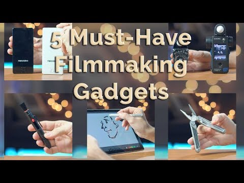 5 Must-Have Filmmaking Gadgets I Use Everyday