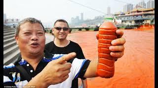 China River Yangtze Turns Blood Red