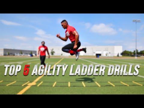 Fast Footwork & Agility Ladder Drills | Speed & Agility Performance