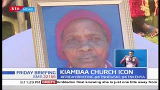 Kimbaa Church icon buried in a low key event