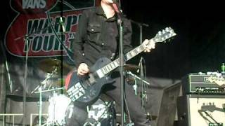 Anti-Flag-The Modern Rome Burning @ Warped Tour 2010 Pomona 8/11/10