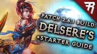 Diablo 3 2.6.1 Wizard Build: Starter & Delsere's Magnum Opus (DMO) GR124+ & Speed (Guide, Season 15)